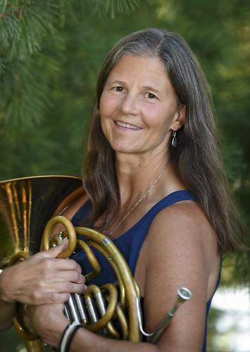 Laura Hood, horn