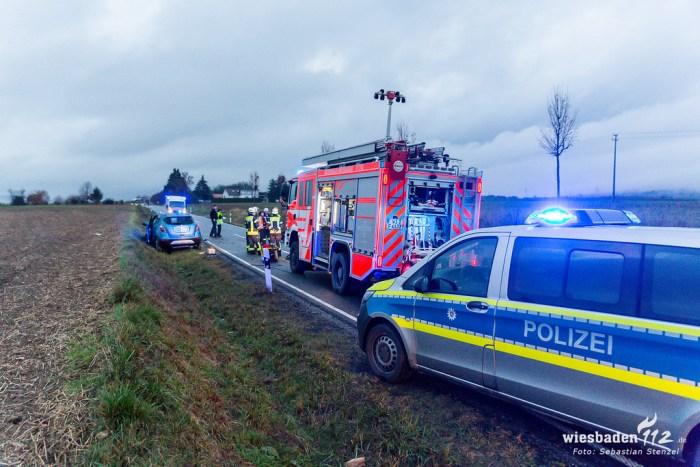 Tödlicher Frontalzusammenstoß L3028 Medenbach 03.12.18