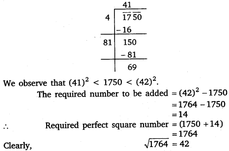 NCERT Solutions for Class 8 Maths Chapter 6 Squares and Square Roots 38