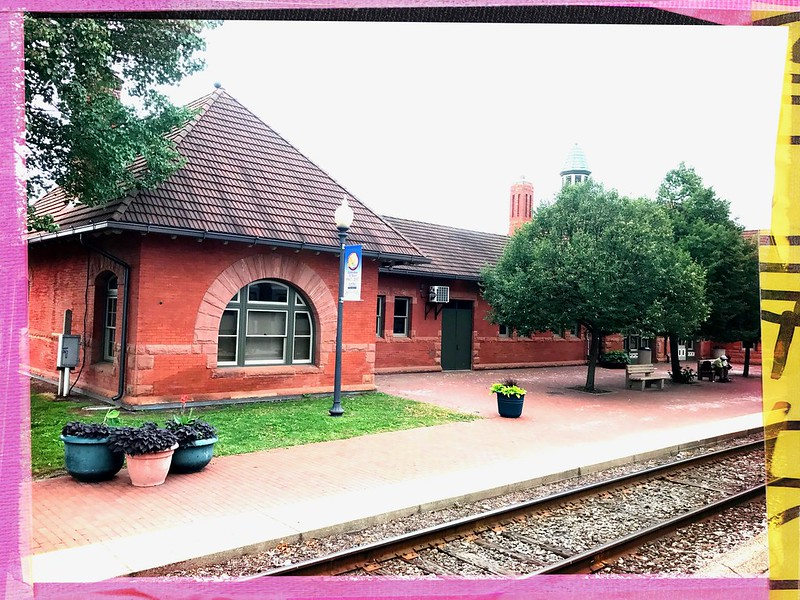 Train station in Kalamazoo, Michigan