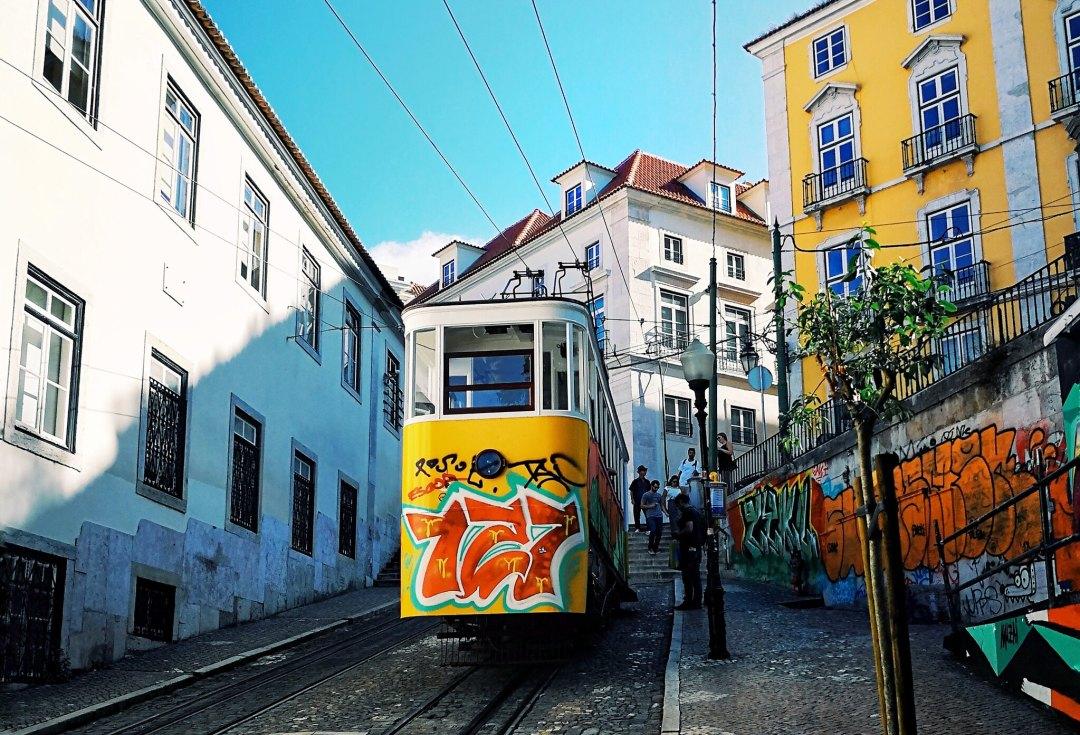Ascensor da Glória, Lisbona