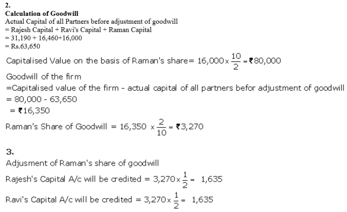 TS Grewal Accountancy Class 12 Solutions Chapter 4 Admission of a Partner Q72.3