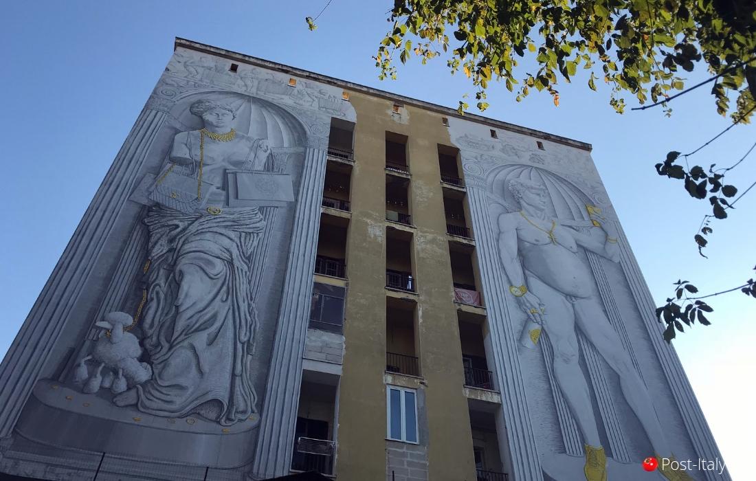 Street art em Roma