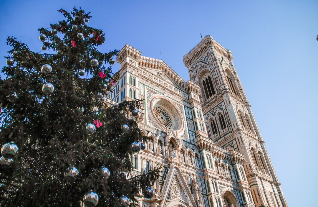 Duomo of Florence at Christmas
