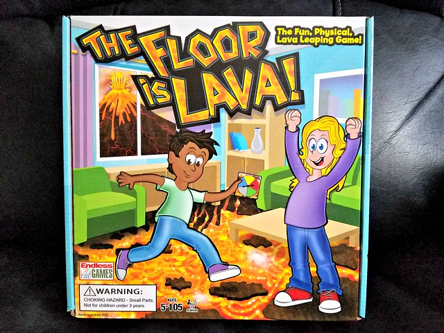 The Floor is Lava! Game from Endless Games