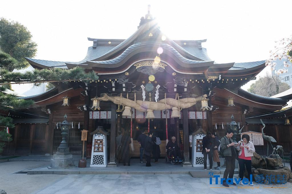 福岡賞櫻景點 櫛田神社 (1)