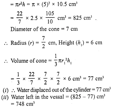 RD Sharma Class 10 Solutions Chapter 14 Surface Areas and Volumes Ex 14.2 24
