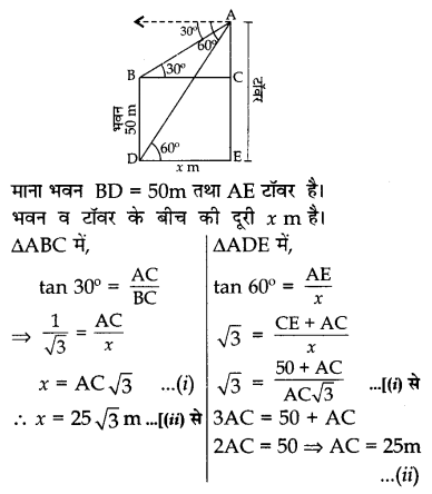 CBSE Sample Papers for Class 10 Maths in Hindi Medium Paper 4 S28