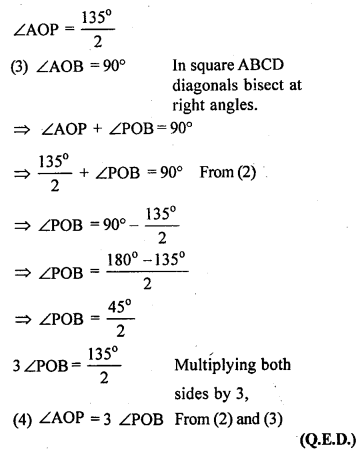 ML Aggarwal Class 9 Solutions for ICSE Maths Chapter 13 Rectilinear Figures  ex 20a