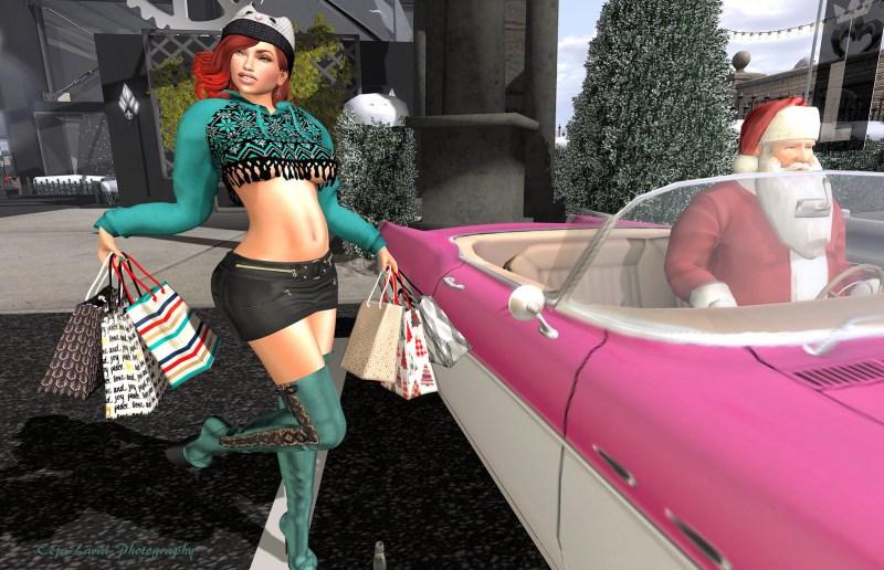 Shopping with Santa