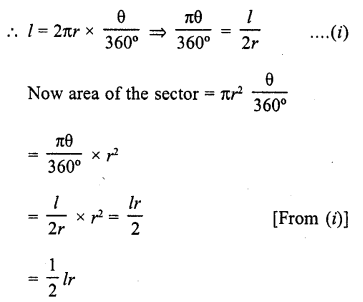 RD Sharma Class 10 Solutions Chapter 13 Areas Related to Circles VSAQS - 3