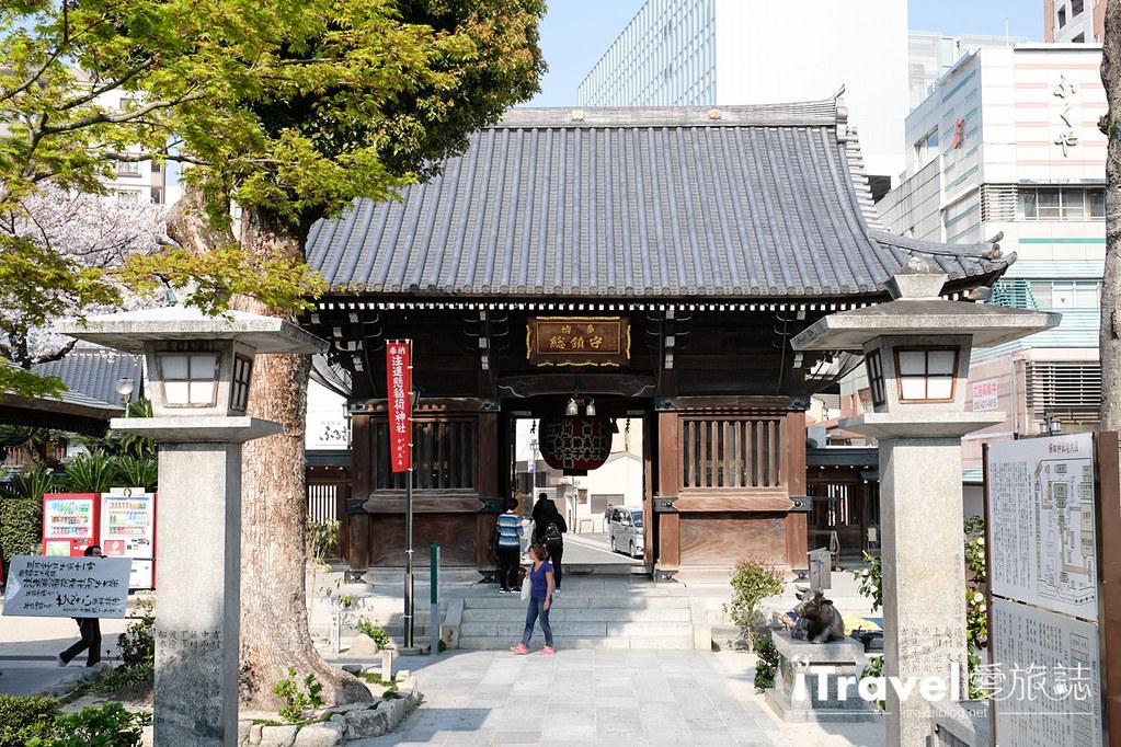 福岡賞櫻景點 櫛田神社 (10)