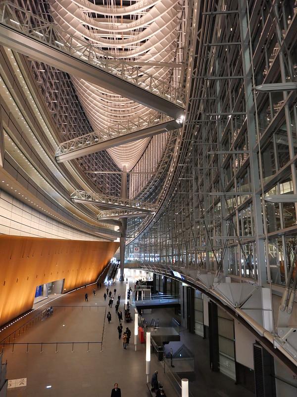 Tokyo International Forum Glass building