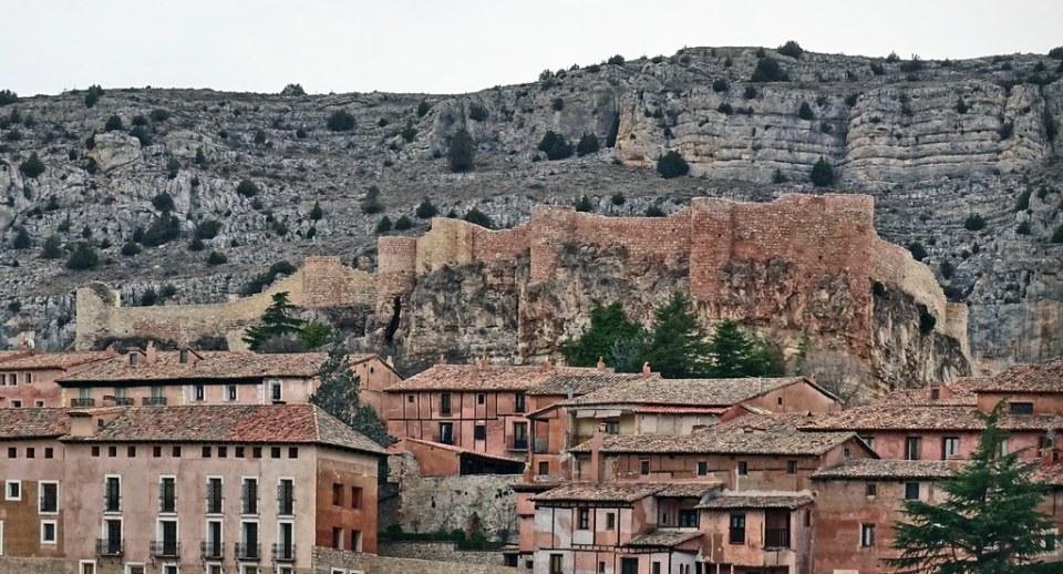 Castillo Alcazar Alcazaba de Albarracin Teruel 01