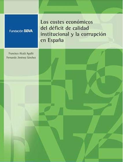 18k28 Los costes económicos del déficit de calidad institucional y la corrupción en España