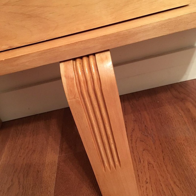 Upcycled side table
