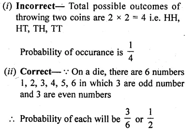 RD Sharma Class 10 Solutions Chapter 16 Probability Ex 16.1 42