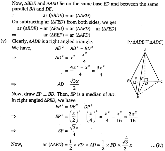 NCERT Solutions for Class 9 Maths Chapter 9 Area of parallelograms and Triangles 43