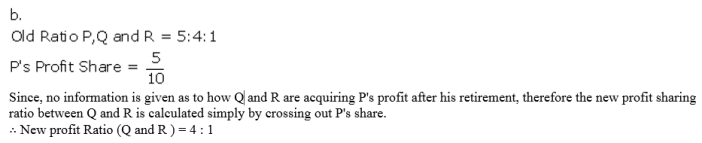 TS Grewal Accountancy Class 12 Solutions Chapter 5 Retirement Death of a Partner Q3.1