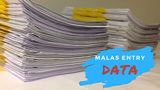 entry data emis susah