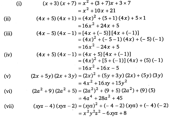 NCERT Solutions for Class 8 Maths Chapter 9 Algebraic Expressions and Identities 25