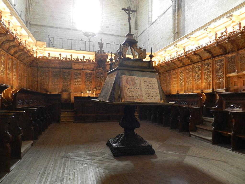 coro interior Catedral de Santa Maria de la Asuncion Coria Caceres 05