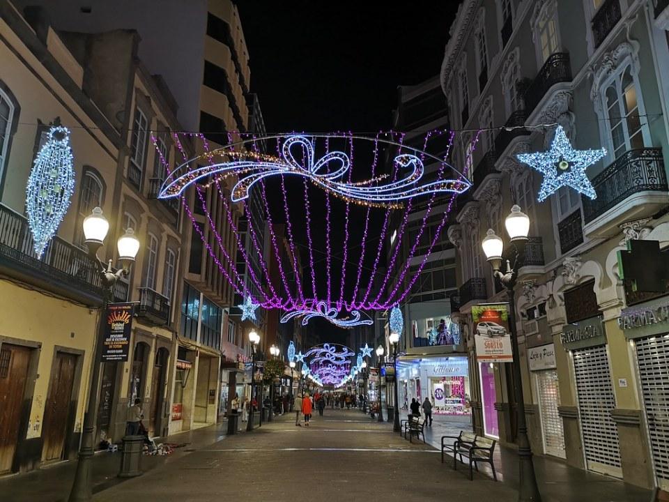 Navidades 2018 calle Triana Las Palmas de Gran Canaria 01