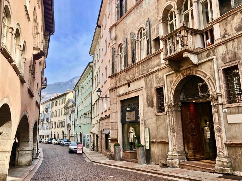 Itinerario di Trento - Via del Suffragio