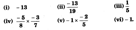 NCERT Solutions for Class 8 Maths Chapter 1 Rational Numbers 8