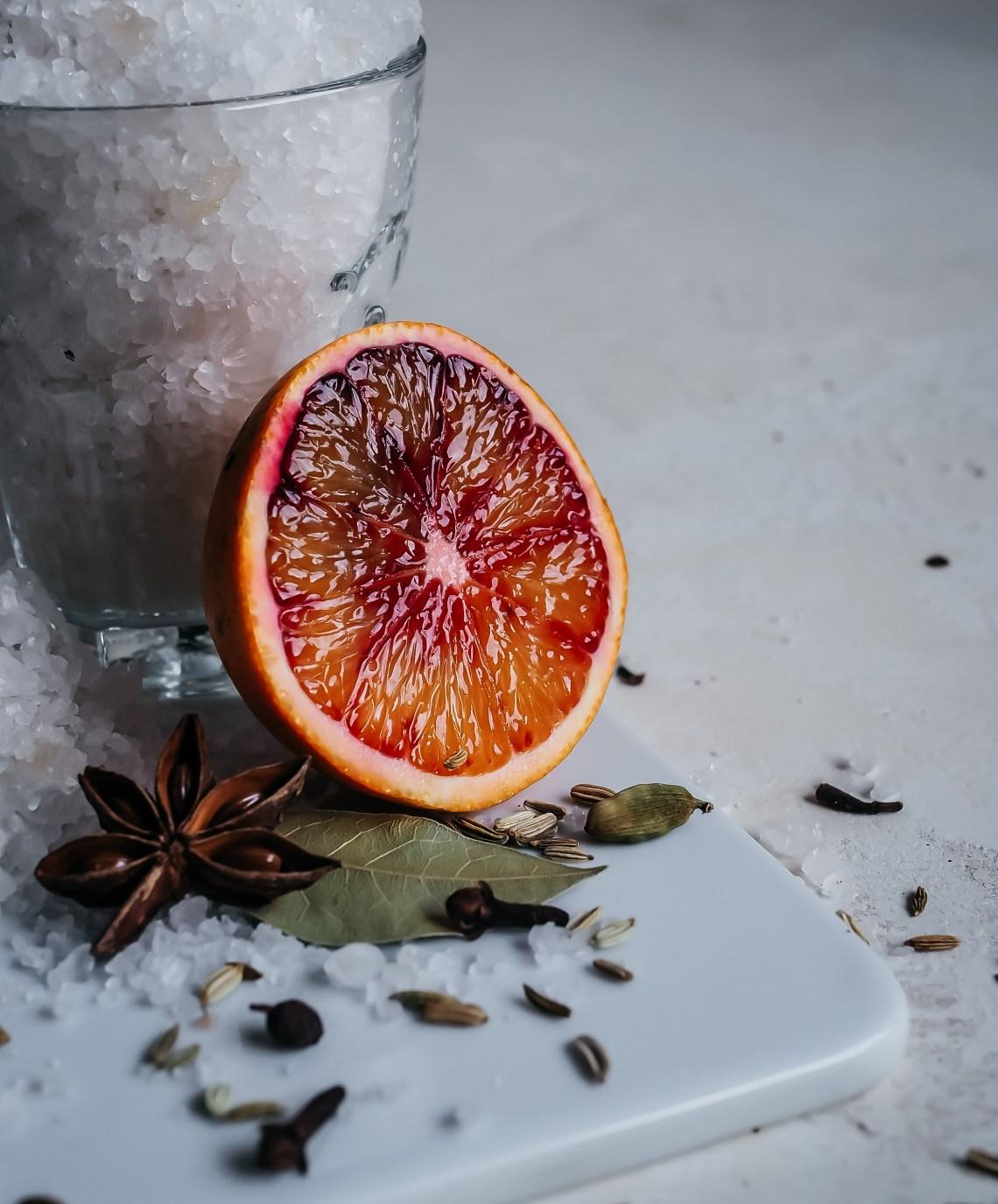 suolattu appelsiini