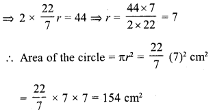 RD Sharma Class 10 Solutions Chapter 13 Areas Related to Circles Ex 13.1 3
