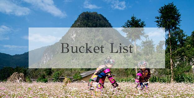 Ha ginag bucket list