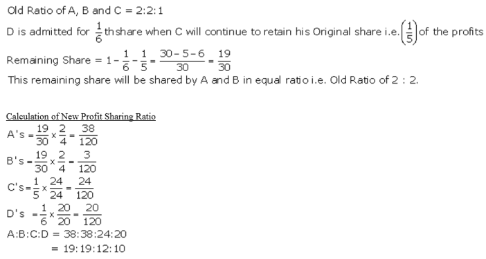 TS Grewal Accountancy Class 12 Solutions Chapter 4 Admission of a Partner Q16