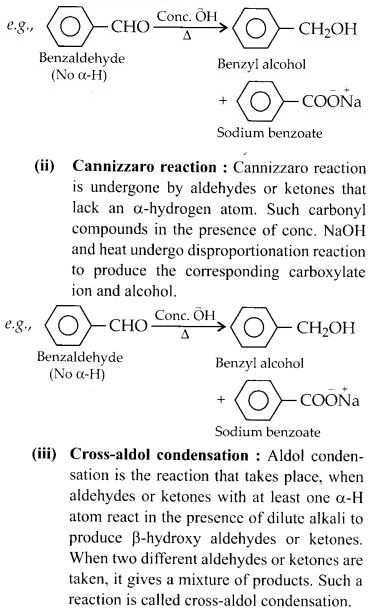 byjus class 12 chemistry Chapter 12 Aldehydes, Ketones and Carboxylic Acids e16A