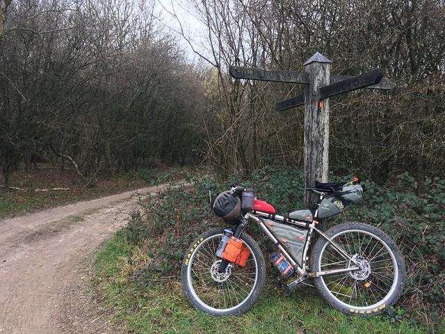 Bivvy a month: January 2019 South Downs Way