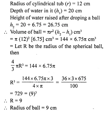 RD Sharma Class 10 Solutions Chapter 14 Surface Areas and Volumes Ex 14.1 40