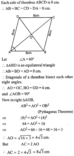 ML Aggarwal Class 9 Solutions for ICSE Maths Chapter 13 Rectilinear Figures  ct 7