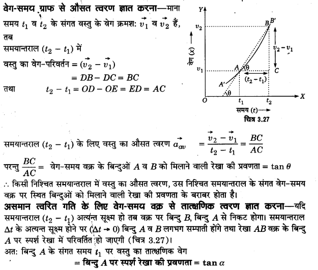 UP Board Solutions for Class 11 Physics Chapter 3 Motion in a Straight Line v2d