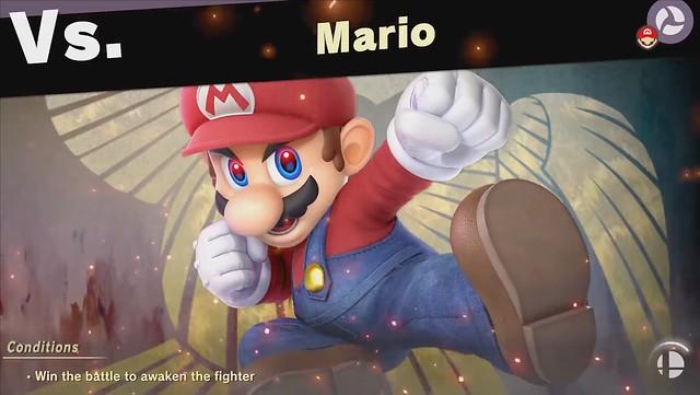 Super Smash Bros - Savaşçı Savaş Mario