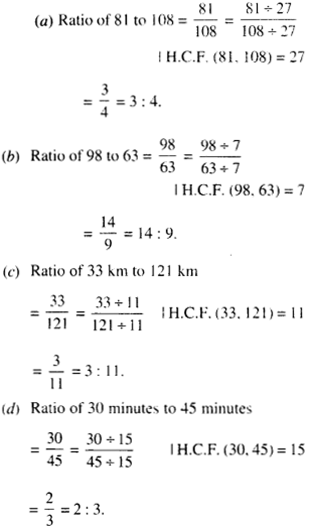 NCERT Solutions for Class 6 Maths Chapter 12 Ratio and Proportion 10