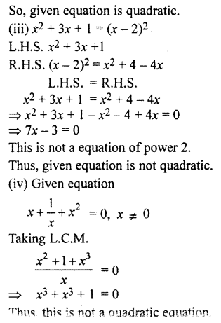 RBSE Solutions for Class 10 Maths Chapter 3 Polynomials Ex 3 3