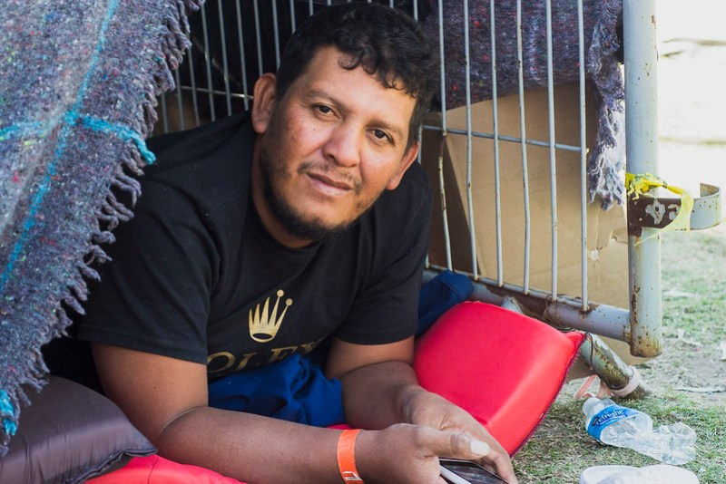 Refugiados Hondureños