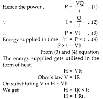 RBSE Solutions for Class 10 Science Chapter 10 Electricity Current AS Q18