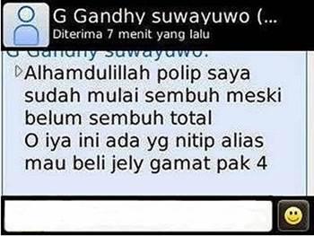 Kesaksian dari QnC Jelly Gamat atasi sinusitis