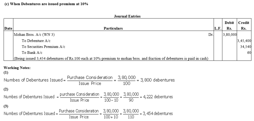 TS Grewal Accountancy Class 12 Solutions Chapter 9 Issue of Debentures Q22.1