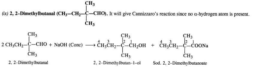 NCERT Solutions for Class 12 Chemistry Chapter 12 Aldehydes, Ketones and Carboxylic Acids e7f