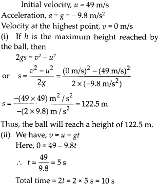 NCERT Solutions for Class 9 Science Chapter 10 Gravitation 12