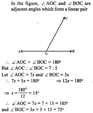Selina Concise Mathematics Class 6 ICSE Solutions - Angles (With their Types) -r13