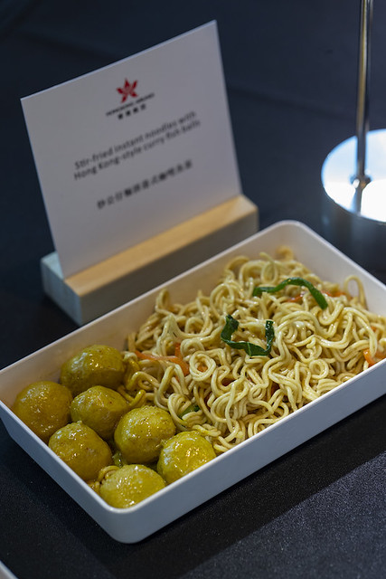 Fish ball with instant noodle