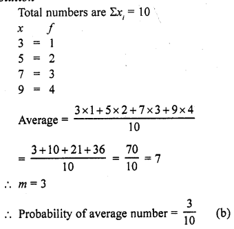 RD Sharma Class 10 Solutions Chapter 16 Probability  MCQS 8A